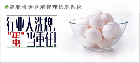 惠顺蛋禽企业管理信息系统